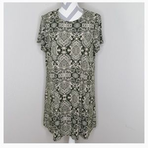 Show Me Your Mumu Green Short Sleeve Dress